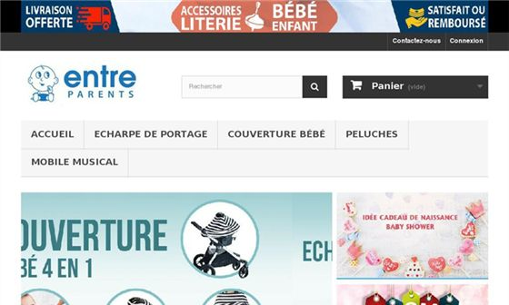 Entre parents - Vente en ligne d'accessoires pour bébés     - Nice, Alpes-Maritimes, Provence-Alpes-Côte d'Azur