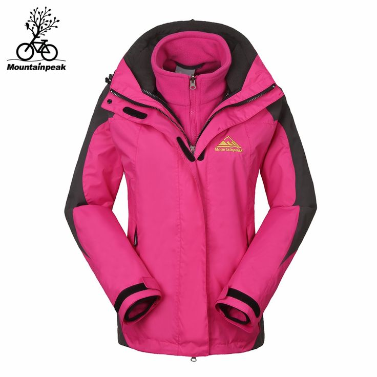 camping gear Women Softshell Jackets Winter 2pieces Set Inner Fleece Female Hiking Jacket Windproof Waterproof Thermal Cycle Climbing Jacket *** Clicking on the VISIT button will lead you to find similar product on AliExpress website