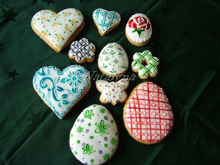 Painted Easter Cookies
