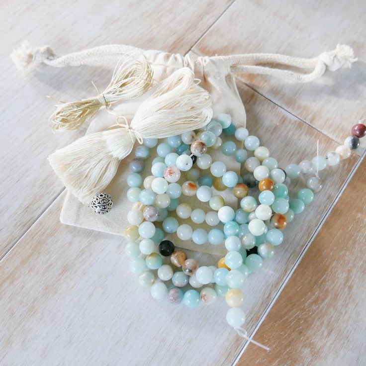 how to make a mala necklace