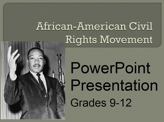 a survey of the african american civil rights movement Marilyn mellowes was principally responsible for the research and development of the series god in america the african american the civil rights movement.