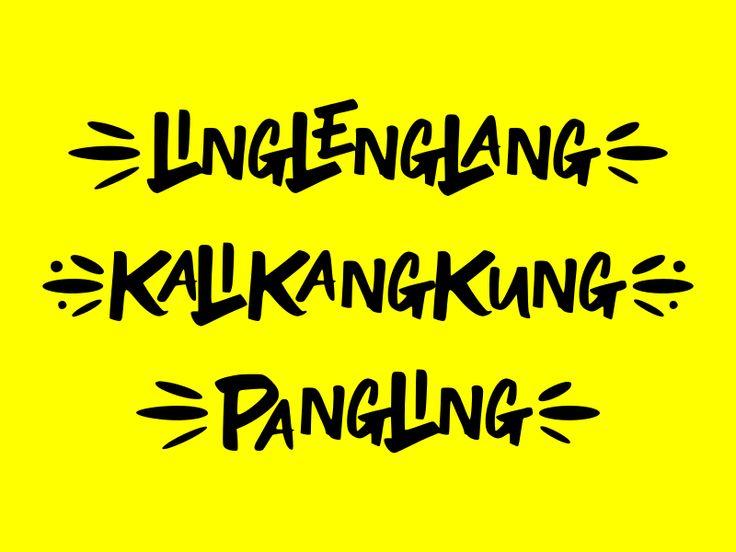 Linglenglang font in 2020 fonts tech