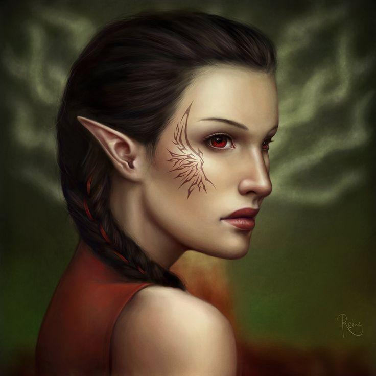 Tabris warden from the city elf origin from DAO.