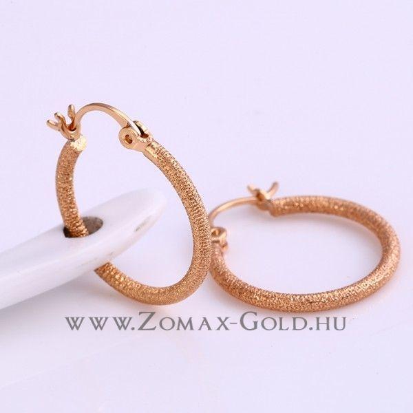 Pilar fülbevaló - Zomax Gold divatékszer www.zomax-gold.hu