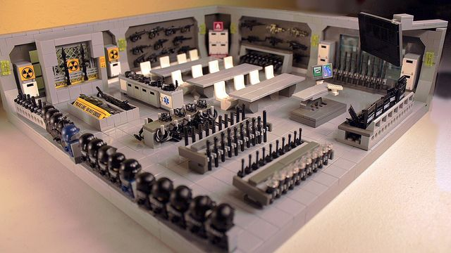 LEGO SWAT Armory and Ready Room | #BREAKING: LEGO Police For… | Flickr
