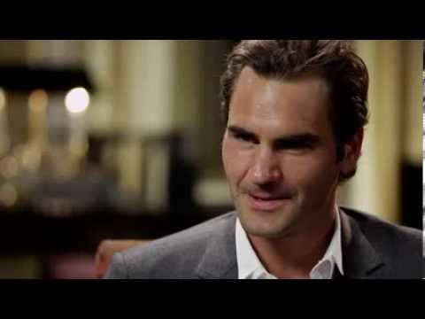 Roger Federer. What a man. What a person. Such a classy sportman he is amazing.