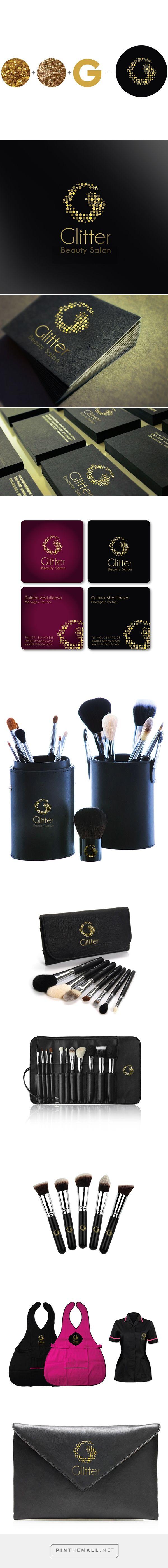 Glitter Beauty Salon Branding on Behance | Fivestar Branding – Design and Branding Agency & Inspiration Gallery | Professional Logo and Website Design