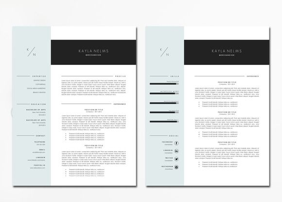 16 best Resume Template images on Pinterest Resume templates - resume portfolio folder