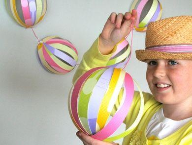 Гирлянда «Разноцветные шары» ко Дню Рождения!
