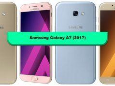 Samsung Galaxy A7 (2017) teknik özellikleri (CES 2017)