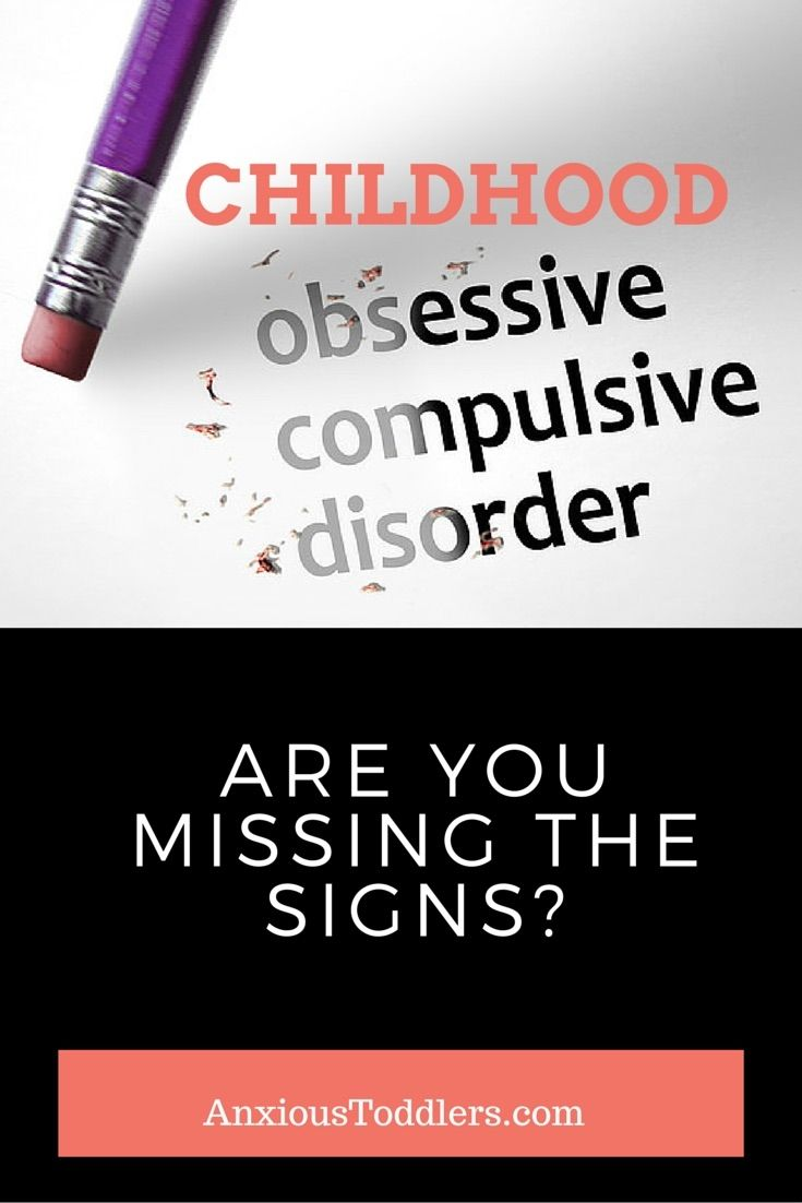 Childhood OCD - If someone in your family has it - so can your child. Do you know what signs to look for?