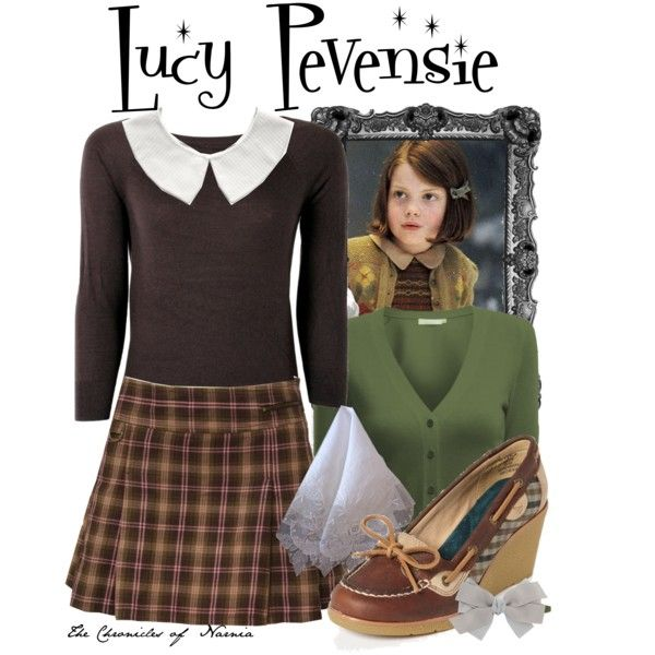 """""""Lucy Pevensie"""" by bri316 on Polyvore"""