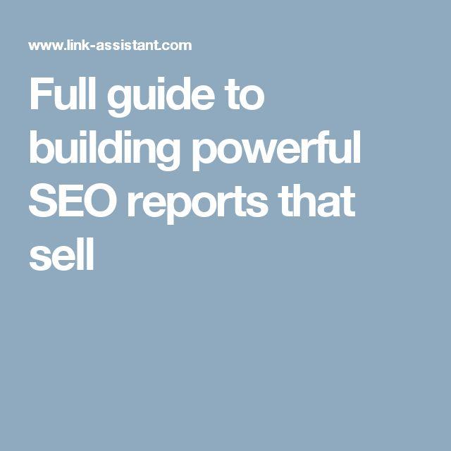Más de 25 ideas increíbles sobre Seo report en Pinterest Blake - competitor analysis report