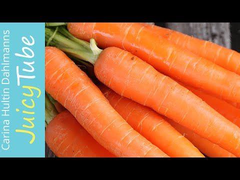 Juice deg brun! Glowing skin with carrot juice! Gulrot juice-oppskrift - YouTube