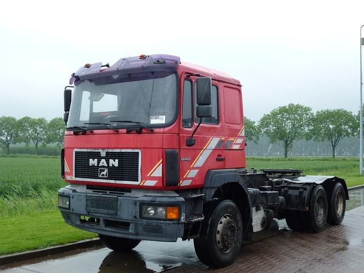 For sale: Used and second hand - Tractor unit M.A.N. 26.463 6X4 MANUAL