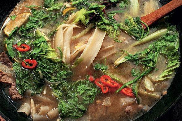 Суп с рисовой лапшой и бараниной рецепт – китайская кухня: супы. «Афиша-Еда»