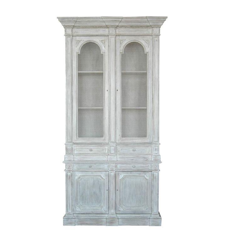 knihovna / stylový toskánský nábytek