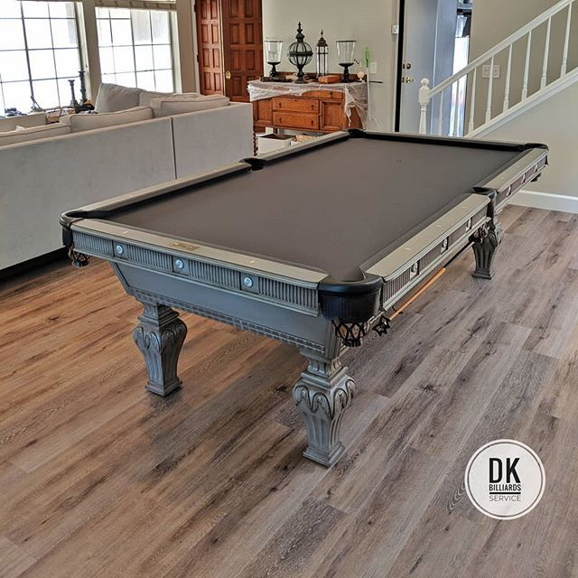 Done Installing This Pro 8 Foot Beach Mfg Pool Table The
