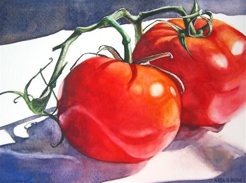 Quot Vine Ripened Quot Original Fine Art For Sale 169 Kara K