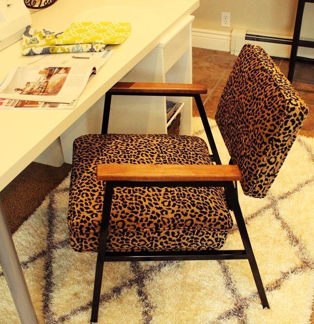 How to Reupholster a Chair: Beginner/Intermediate DIY