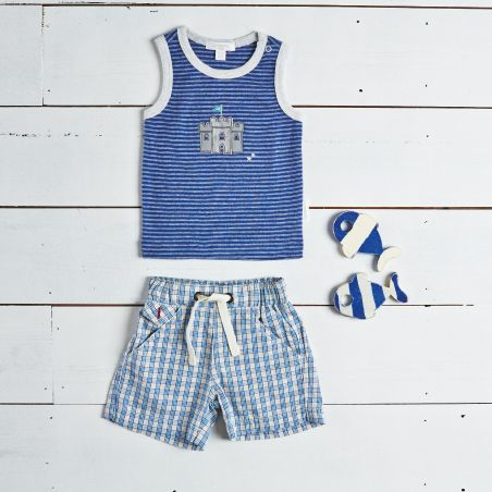Boys Mediterranean Collection Summer Outfit Styling