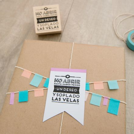 Sello Mr.Wonderful. Se vende en: www.mrwonderfulshop.es  #sello #stamp #DIY