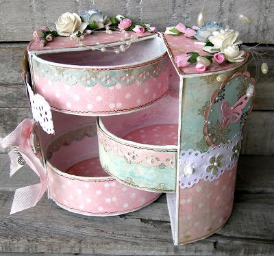 piabau: Round gift box
