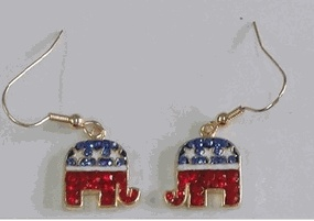 $7: Republican Jewelry, Ole Parties, Quality Patriots, Patriots American, Crystals Logos, Grand Ole, Include Large, High Quality, Jewelry Include