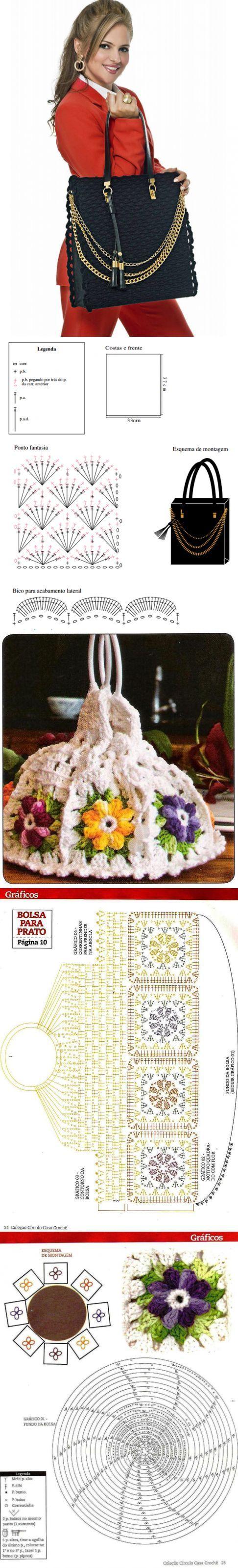 Вязаные сумки - Мир-творческие