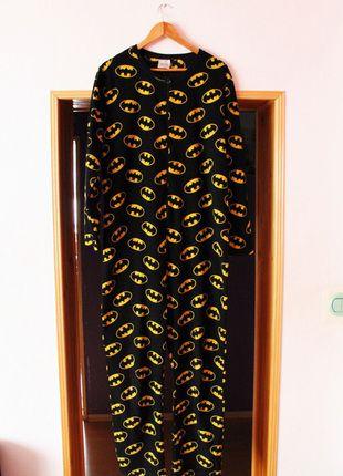 Kup mój przedmiot na #vintedpl http://www.vinted.pl/damska-odziez/pizamy/12635682-onesie-pizama-szlafrok-bielizna-batman-meskadamska-m