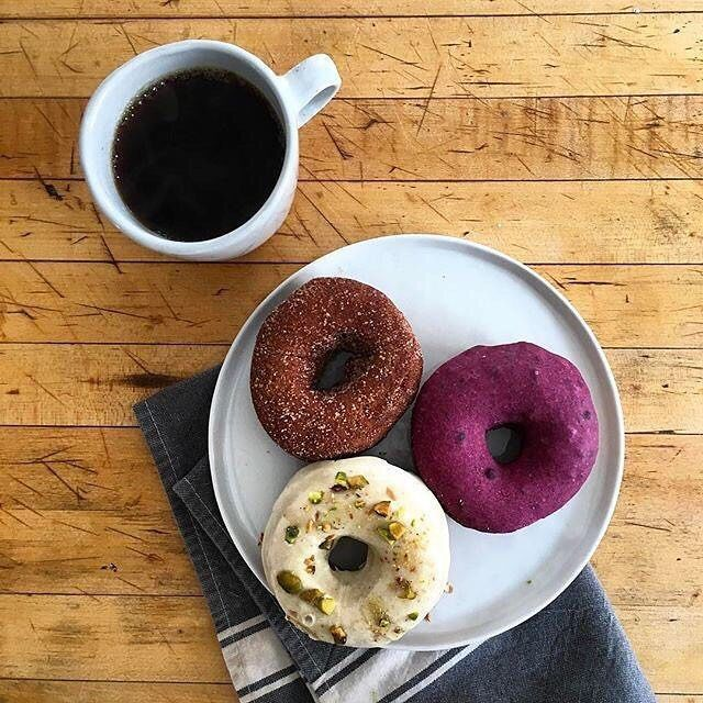 Cheers to #NationalDonutDay!!  Best. Day. Ever. Enjoy your #FriYay with a #donut (or three).  @allegrocoffee #breakfastofchamps #sweettreat #TGIF #Friday #coffee  What's your ultimate donut flavor?
