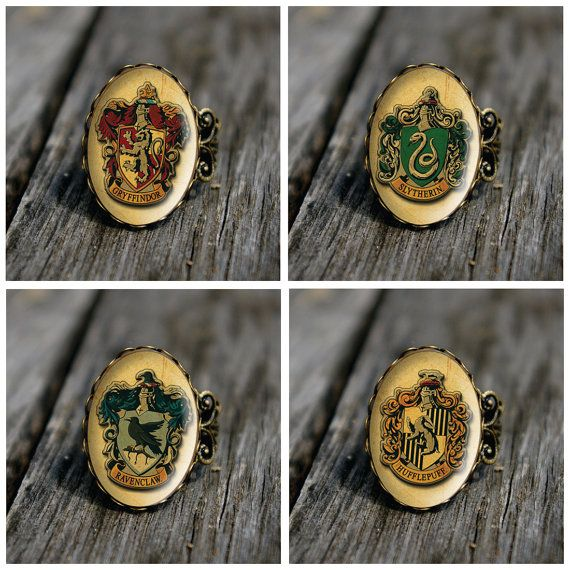 Hogwarts House Class Rings, $15 each | 56 Totally Wearable Harry Potter-Themed Accessories