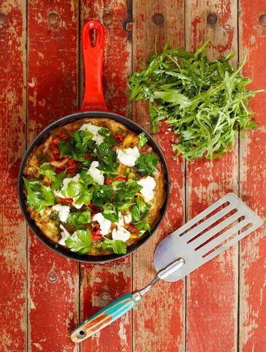 Roasted Chilli Frittata Recipe on Yummly