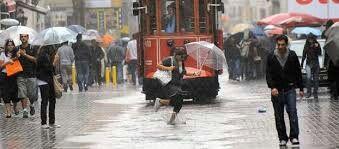 Turkey istanbul rain