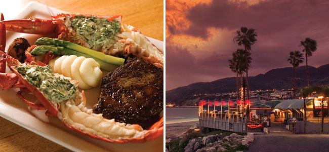 Surf n Turf from #Gladstones in Malibu - cant be the view either!