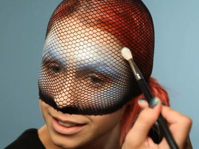 Makeup - fish scales