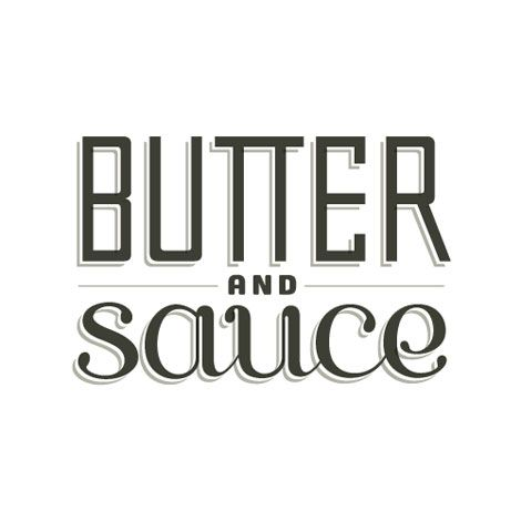 butter and sauce