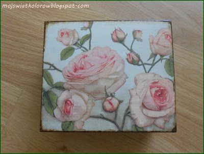 Mój świat kolorów...: Różana herbaciarka....
