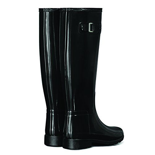 New Hunter Boot USA Original Refined Gloss Black 7 Womens Boots