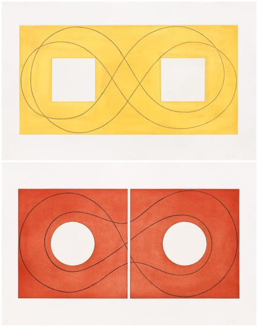 Robert Mangold, 'Double Square Frame I & II,' 2015, Pace Prints