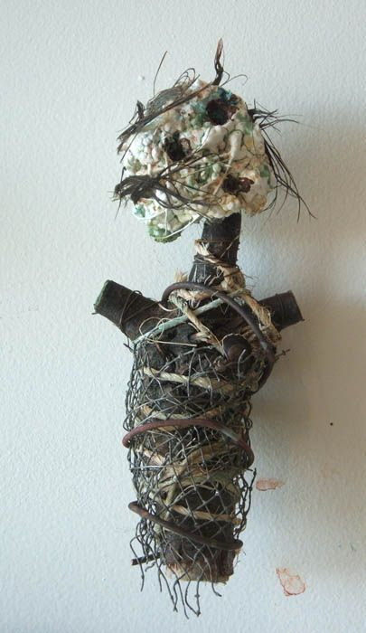 """Stump"" doll by Santa fe Artist Kelly Moore"