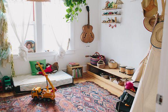 Cool Kids Rooms: Henry's Californian Montessori Bedroom