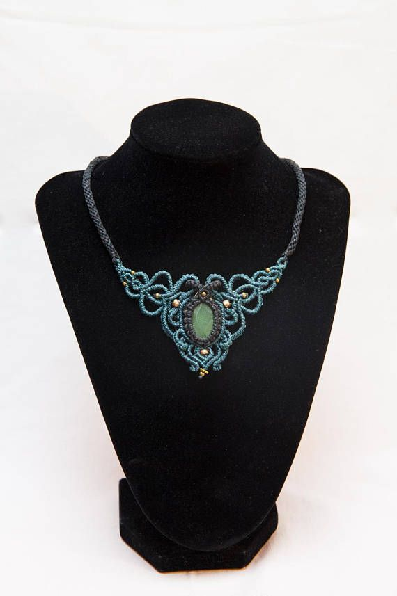 Hey, I found this really awesome Etsy listing at https://www.etsy.com/listing/563146746/macrame-baroque-aventurine-crystal