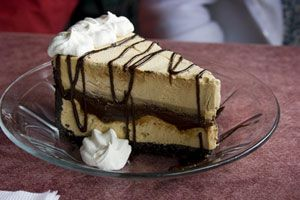 Kimo's Hula Pie Recipe from CDKitchen.com. Dennis will be soo happy I found this one