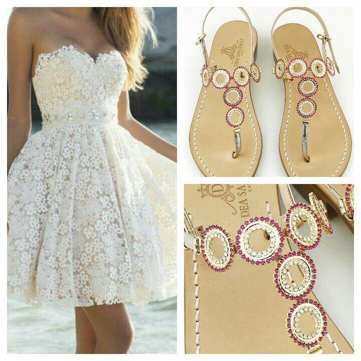Inconfondibile stile italiano. Sandali gioiello Dea Sandals collection