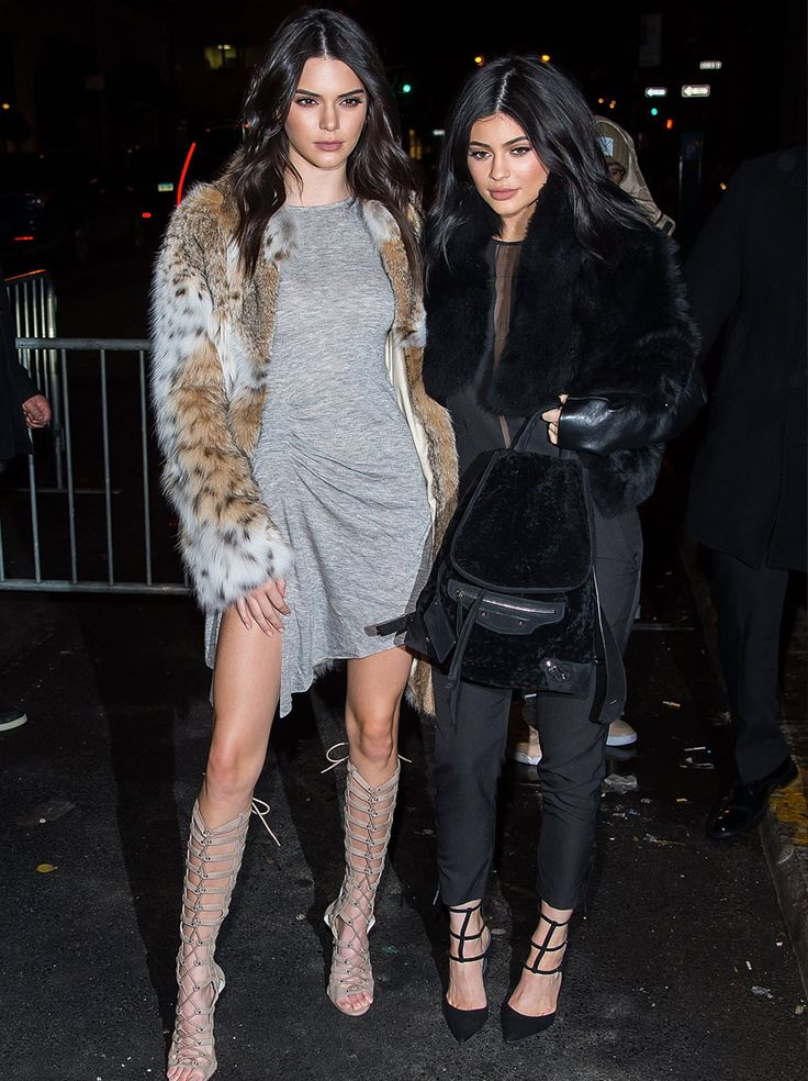 Kendall and Kylie Jenner stun at the launch of their new clothing line in NYC! | toofab,com
