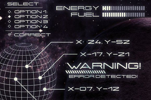 Centauri - Futuristic Font by Tugcu Design Co. on @creativemarket