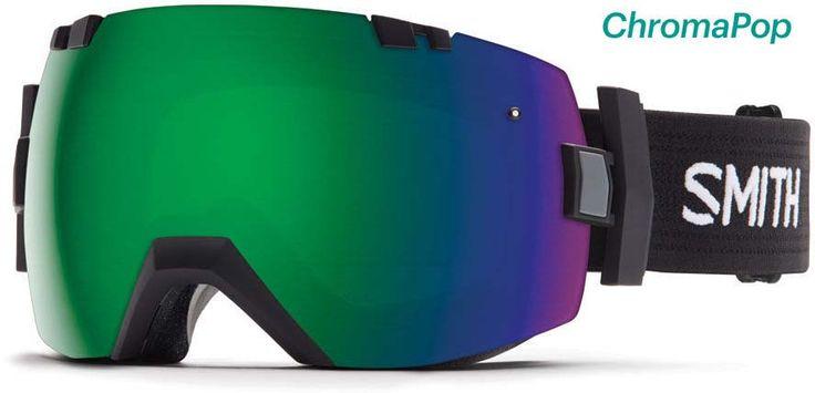 snb brýle SMITH - I/Ox Black Chromapop_Sun (ZW9-99MK)