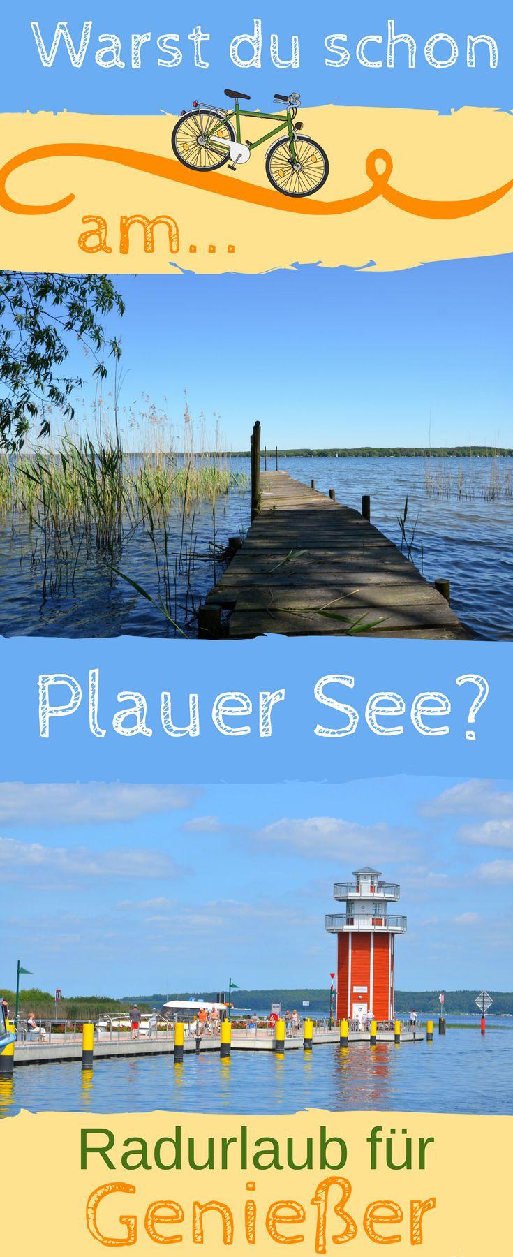 Die Radrundfahrt Mecklenburger Seentour beginnt im Westen der Mecklenburgischen Seenplatte am Plauer See