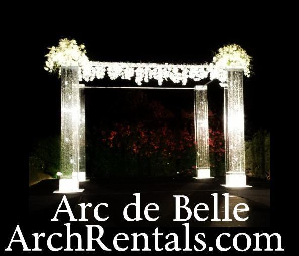 Altars Canopies Arbors Arches: 1000+ Images About Arc De Belle Lucite, Acrylic Wedding